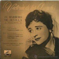Discos de vinilo: VICTORIA DE LOS ANGELES EP SELLO LA VOZ DE SU AMO AÑO 1961. Lote 48138539