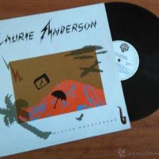 Discos de vinilo: LAURIE ANDERSON, MISTER HEARTBREAK. Lote 48147882