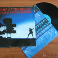Discos de vinilo: LAURIE ANDERSON, HOME OF THE BRAVE. VINILO. Lote 48147913