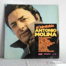 Discos de vinilo: EL INIMITABLE ANTONIO MOLINA-LP. Lote 48148800