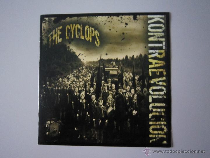 Discos de vinilo: EP - SPLIT PUNK - THE CYCLOPS-KONTRA EVOLUCION Y TURBOBRASAS - PORTADA ESPECIAL ALTERNATIVA - 2007 - Foto 2 - 48151361