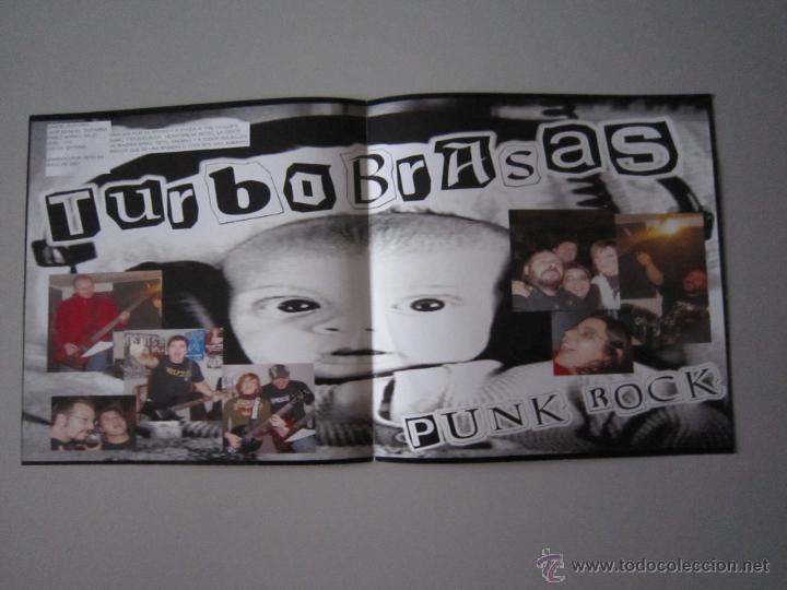 Discos de vinilo: EP - SPLIT PUNK - THE CYCLOPS-KONTRA EVOLUCION Y TURBOBRASAS - PORTADA ESPECIAL ALTERNATIVA - 2007 - Foto 3 - 48151361