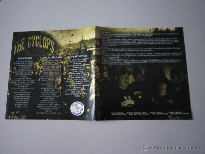 Discos de vinilo: EP - SPLIT PUNK - THE CYCLOPS-KONTRA EVOLUCION Y TURBOBRASAS - PORTADA ESPECIAL ALTERNATIVA - 2007 - Foto 4 - 48151361