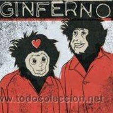 Discos de vinilo: GINFERNO– GINFERNO EDICION LIMITADA NO. 447/500. Lote 48156388