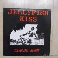Discos de vinilo: JELLYFISH KISS - GASOLINE JUNKIE INDIE ROCK 1989 NUEVO. Lote 48158043