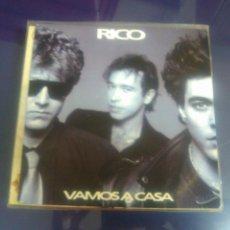 Discos de vinilo: RICO - VAMOS A CASA -COMO A ESTRENO-. Lote 48158977