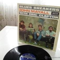 Discos de vinilo: BLUES BREAKERS - JOHN MAYALL WITH ERIC CLAPTON - ORIGINAL DECCA STEREO 1969 UK LP - VINILOVINTAGE. Lote 48159281