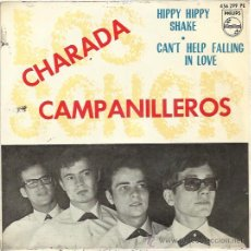 Discos de vinilo: LOS SONOR EP PHILIPS 1964 CAMPANILLEROS/ HIPPY HIPPY SHAKE/ CHARADA/ CAN'T HELP FALLING IN LOVE . Lote 48159481