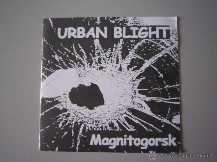 EP - PUNK - URBAN BLIGHT - MAGNITOGORSK - 1999 - IMPORTACIÓN - FRANCIA (Música - Discos de Vinilo - EPs - Punk - Hard Core)