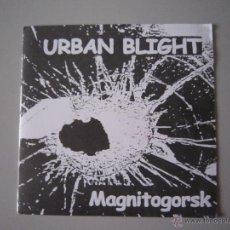 Discos de vinilo: EP - PUNK - URBAN BLIGHT - MAGNITOGORSK - 1999 - IMPORTACIÓN - FRANCIA. Lote 48160346
