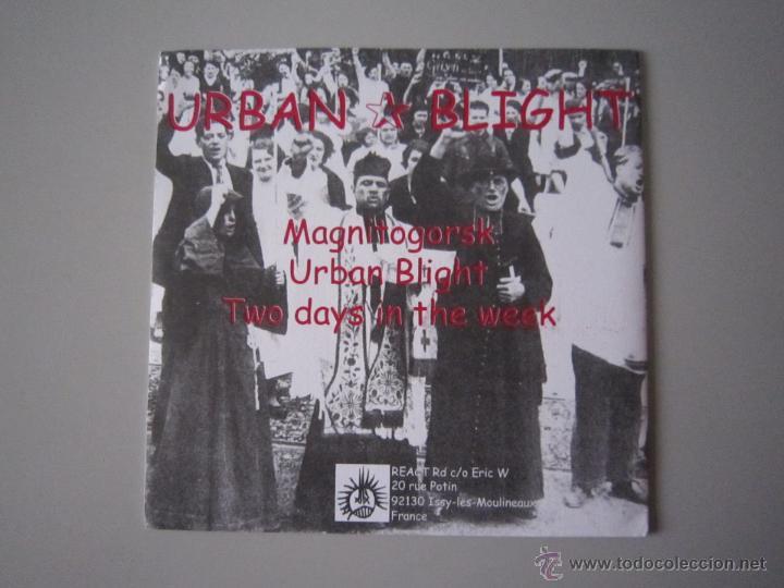 Discos de vinilo: EP - PUNK - URBAN BLIGHT - MAGNITOGORSK - 1999 - IMPORTACIÓN - FRANCIA - Foto 2 - 48160346