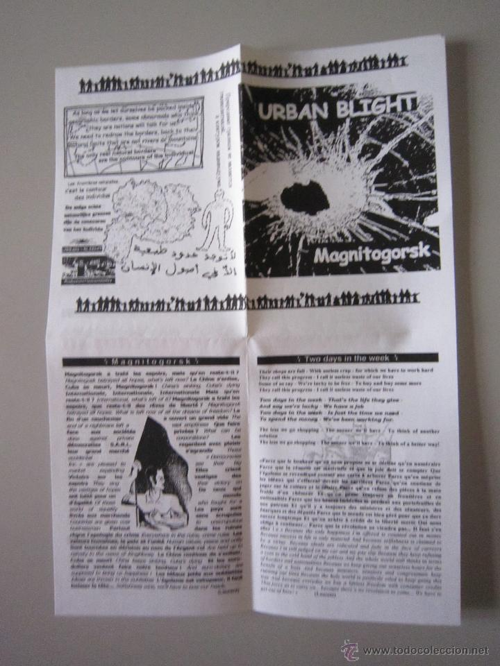 Discos de vinilo: EP - PUNK - URBAN BLIGHT - MAGNITOGORSK - 1999 - IMPORTACIÓN - FRANCIA - Foto 3 - 48160346