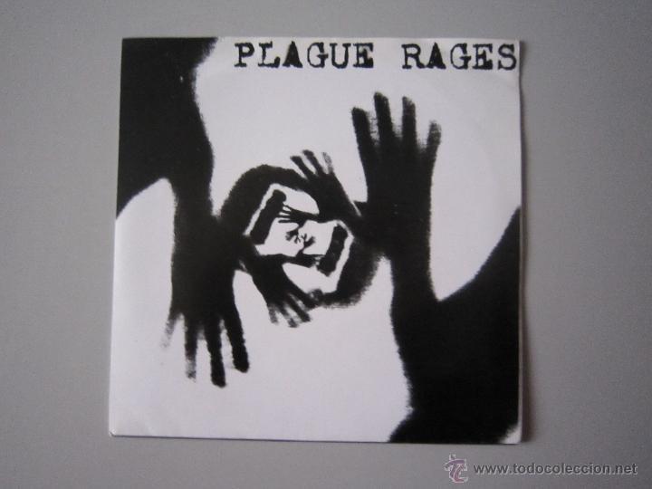 EP - SPLIT HARD CORE - PLAGUE RAGES Y LD 50-OBSERVED -2000 - IMPORTACIÓN - BRASIL (Música - Discos de Vinilo - EPs - Punk - Hard Core)