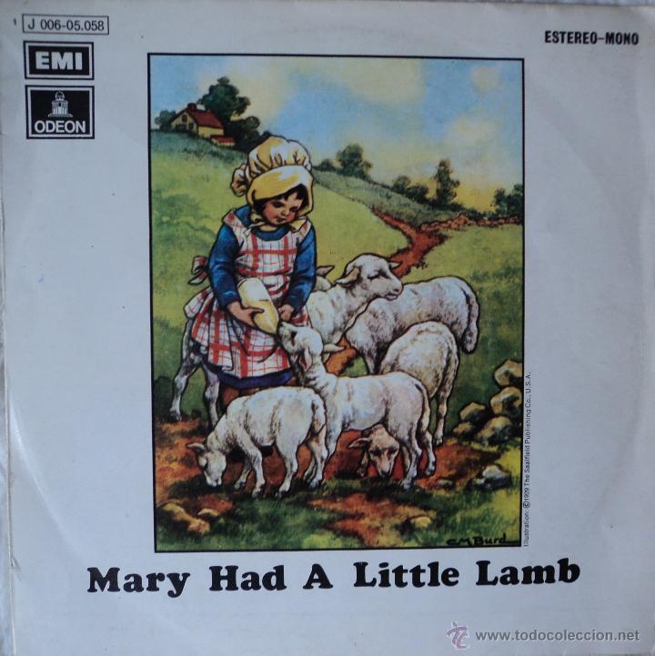 PAUL MCCARTNEY (WINGS) - MARY HAD A LITTLE LAMB - EDICIÓN DE 1972 DE ESPAÑA (Música - Discos - Singles Vinilo - Pop - Rock Extranjero de los 50 y 60)
