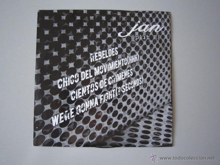 Discos de vinilo: EP - SPLIT - INZESTO Y JAN - 2005 - H.C. PUNK - Foto 2 - 48161627