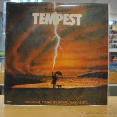 Discos de vinilo: TEMPEST - BSO - LP. Lote 48162313