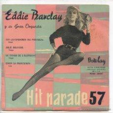 Disques de vinyle: EDDIE BARCLAY / LES LAVANDIERES DU PORTUGAL / JOLIE BRUYERE + 2 (EP 1959). Lote 48162683