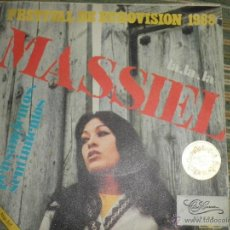 Dischi in vinile: MASSIEL - LA, LA, LA SINGLE - ORIGINAL ESPAÑOL - NOVOLA RECORDS 1968 MONOAURAL. Lote 48162898