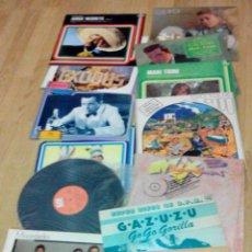 Discos de vinilo: LOTE 12 LPS VINILO - DISCOS - EXODUS Y MARIO LANZA VENDIDOS. Lote 48165469