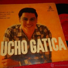 Discos de vinilo: LUCHO GATICA ECHAME A MI LA CULPA/SERA MUY TARDE/ESCRIBEME/MENOS QUE NADA EP 1958 ESPAÑA SPAIN. Lote 48169888