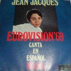 Disques de vinyle: JEAN JACQUES - MAMA / LOS DOMINGOS FELICES - EUROVISION 69 -. Lote 48192840