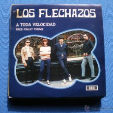 Discos de vinilo: LOS FLECHAZOS A TODA VELOCIDAD SINGLE 1992 PDELUXE. Lote 48195172