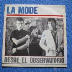 Discos de vinilo: LA MODE DESDE EL OBSERVATORIO SINGLE 1985 PDELUXE. Lote 48195588