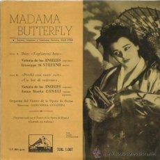 Discos de vinilo: MADEMA BUTTERFLY EP SELLO LA VOZ DE SU AMO AÑO 1958. Lote 48196197