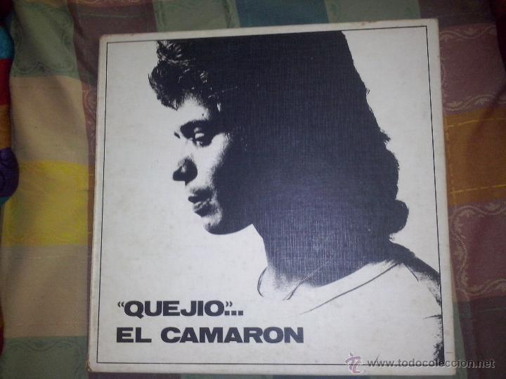 CAJA QUEJIO EL CAMARON .LA CAJA TIENESOLO 2 LP DE LOS TRES QUE CONTENIA.FALTA EL VOLUMEN 3.AÑO 1984 (Música - Discos - LP Vinilo - Flamenco, Canción española y Cuplé)