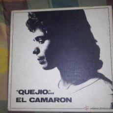 Discos de vinilo: CAJA QUEJIO EL CAMARON .LA CAJA TIENESOLO 2 LP DE LOS TRES QUE CONTENIA.FALTA EL VOLUMEN 3.AÑO 1984. Lote 48203182