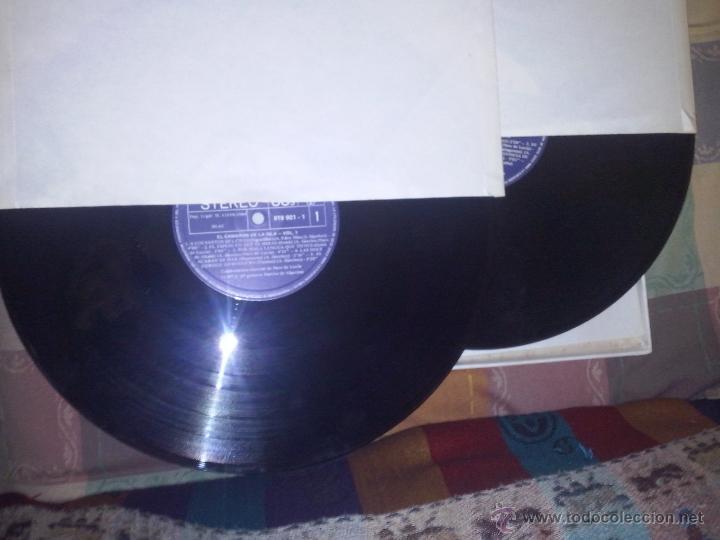 Discos de vinilo: Caja quejio el camaron .La caja tienesolo 2 Lp de los tres que contenia.falta el volumen 3.año 1984 - Foto 2 - 48203182