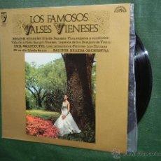 Discos de vinilo: LOS FAMOSOS VALSES VIENESES - JOHANN STRAUSS / EMIL WALDTEUFEL - DISCOPHON S4102. Lote 48204388