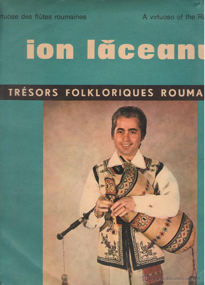 LP ION LACEANU - TRESORS FOLKLORIQUES ROUMAINS (Música - Discos - LP Vinilo - Clásica, Ópera, Zarzuela y Marchas)