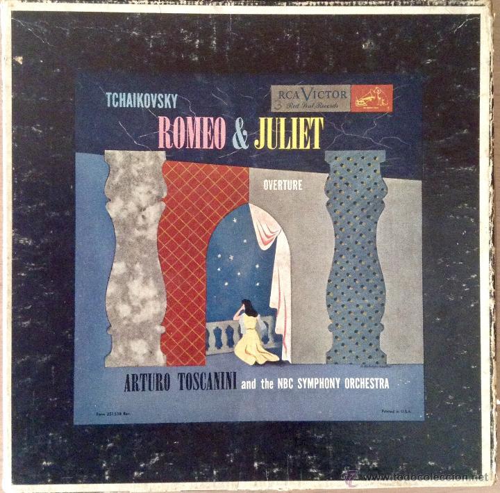 TCHAIKOVSKY - ROMEO Y JULIETA - ARTURO TOSCANINI Y LA NBC SYMPHONY ORCHESTRA (Música - Discos - Singles Vinilo - Orquestas)