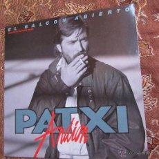Discos de vinilo: LP DE VINILO DE PATXI ANDION.- TITULO EL BALCON ABIERTO- ORIGINAL DEL 86- 9 TEMAS.- ¡¡¡¡¡NUEVO ¡¡¡¡¡. Lote 48215537