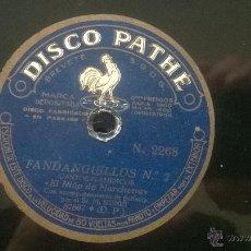 Discos de vinilo: DISCO PIZARRA SIGUIRILLAS GITANAS FANDANGILLOS CANTOS FLAMENCOS EL NIÑO DE MARCHENA. Lote 48221752