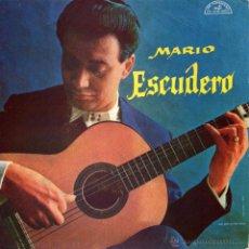 Discos de vinilo: MARIO ESCUDERO - EP VINILO 7 - EDITADO HOLANDA - FLAMENCO GUITARRA FLAMENCA: SEVILLANAS + 3 - ARTONE. Lote 48222901