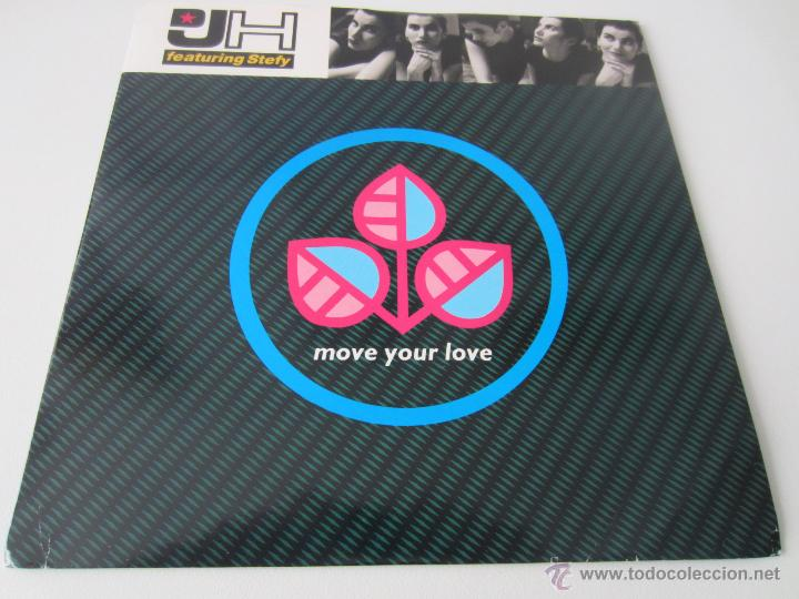 D.J.H. (DJ H.) FEATURING STEFY - MOVE YOUR LOVE/I LIKE IT (CULTURE MIX) 1991 UK SINGLE (Música - Discos - Singles Vinilo - Rap / Hip Hop)