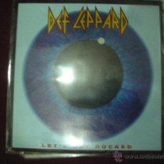 Discos de vinilo: DEF LEPPARD - LET'S GET ROCKED. Lote 48224766