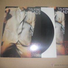 Discos de vinilo: TALKING HEADS (LP) STOP MAKING SENSE (BANDA SONORA) AÑO 1984 - ENCARTE INTERIOR CON HOJAS + LIBRETO. Lote 51805141