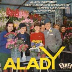 Discos de vinil: ALADY, EP, SEMPRE LA RAMBLA + 3, AÑO 1964. Lote 48239077