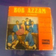 Discos de vinilo: BOB AZZAM Y SU ORQUESTA - MUSTAPHA + 3. Lote 48244811