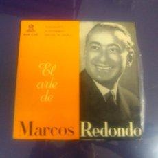 Discos de vinilo: MARCOS REDONDO - ALMA DE DIOS + EL GUITARRICO + DON GIL DE ALCALA. Lote 48245553