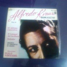 Discos de vinilo: ALFREDO KRAUS - ROMANZAS VOL4 (DIRIGE PABLO SOROZABAL) -COMO A ESTRENO-. Lote 48245800