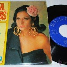 Discos de vinilo: LOLA FLORES - TENGO MIEDO - VERDE PAÑUELO + 2 - EP - BELTER 1967 SPAIN. Lote 48264884