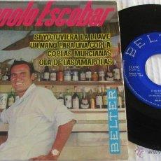 Discos de vinil: MANOLO ESCOBAR - SI YO TUVIERA LA LLAVE + 3 - EP - BELTER 1964 SPAIN. Lote 48265120