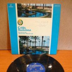 Discos de vinilo: FIRMADO !! COBLA BADALONA. SARDANES. TOMÀS GIL I MEMBRADO. LP / COLUMBIA - 1976. ***/*** DIFÍCIL.. Lote 48265196