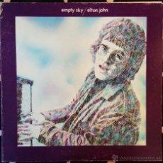 Discos de vinilo: ELTON JOHN, EMPTY SKY LP. Lote 48265692