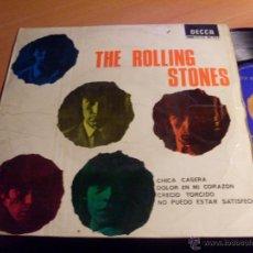Discos de vinilo: THE ROLLING STONES (CHICA CASERA +3 ) EP ESPAÑA SDGE 80.933 (VG+/EX+)(EP12). Lote 48265952