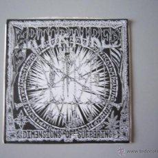 Discos de vinilo: EP-SPLIT GRIND-H.C.-ARTORTURED (DIMENSIONS OF SUFFERING) Y CRISIS REBIRTH-1997-IMPORTACIÓN - U.S.A.. Lote 48265956